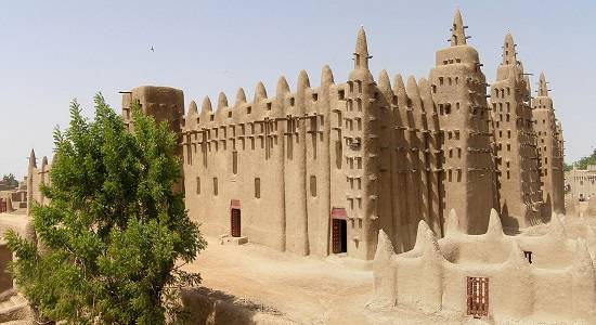 The Great Mosque of Djenné Endangered